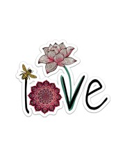 Love Namaste  Sticker - Single (Horizontal) front
