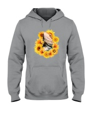 Bearded Dragon And Sunflowers Hooded Sweatshirt thumbnail