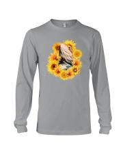 Bearded Dragon And Sunflowers Long Sleeve Tee thumbnail