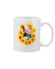 Bearded Dragon And Sunflowers Mug thumbnail