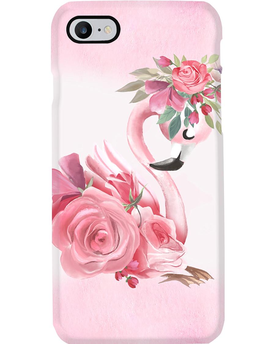 Flamingo Rose Phone Case