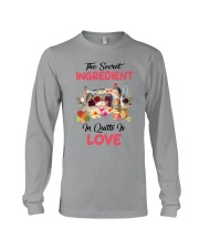 The Secret Ingredient In Quilts Is Love Long Sleeve Tee thumbnail