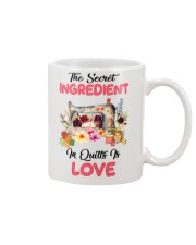 The Secret Ingredient In Quilts Is Love Mug thumbnail