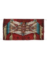 Native Red Cloth face mask front