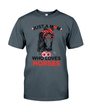 Just A Mom Who Loves Horses Classic T-Shirt tile