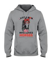 Just A Mom Who Loves Horses Hooded Sweatshirt thumbnail