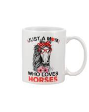 Just A Mom Who Loves Horses Mug thumbnail