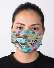 Yorkshire Ew People Mask Cloth face mask aos-face-mask-lifestyle-01