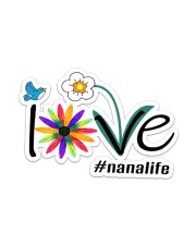 Love Nana Life  Sticker - Single (Horizontal) front