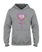 For Elephant Lovers Hooded Sweatshirt thumbnail