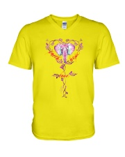 For Elephant Lovers V-Neck T-Shirt thumbnail