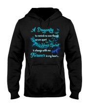 A Dragonfly To Remind Me Hooded Sweatshirt tile