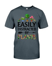 Easily Distracted By Plants Classic T-Shirt tile