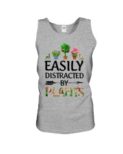 Easily Distracted By Plants Unisex Tank thumbnail