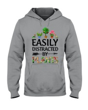 Easily Distracted By Plants Hooded Sweatshirt thumbnail