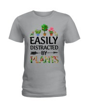 Easily Distracted By Plants Ladies T-Shirt thumbnail