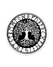 Viking Tree Of Life  Sticker - Single (Vertical) front
