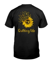 Quilting Life Classic T-Shirt back