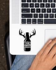 Hunting Beer Season Sticker - Single (Vertical) aos-sticker-single-vertical-lifestyle-front-11