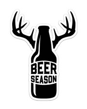 Hunting Beer Season Sticker - Single (Vertical) front