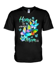 Home Is Where Mom Is V-Neck T-Shirt tile