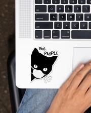 Black Cat Ew People Sticker - Single (Vertical) aos-sticker-single-vertical-lifestyle-front-11
