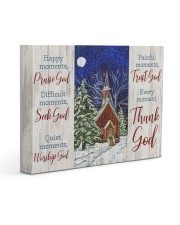 Thank God Gallery Wrapped Canvas Prints tile