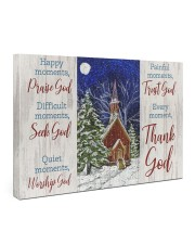 Thank God 36x24 Gallery Wrapped Canvas Prints front