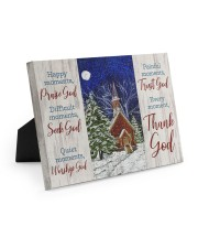 Thank God Easel-Back Gallery Wrapped Canvas tile