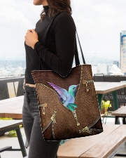 For Hummingbird Lovers All-over Tote aos-all-over-tote-lifestyle-front-04