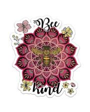 Namaste Be Kind Sticker - Single (Vertical) front