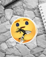 For Bee Lovers Sticker - 2 pack (Vertical) aos-sticker-2-pack-vertical-lifestyle-front-04