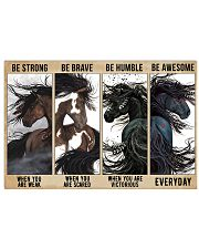 Horse Be Strong Poster NTV 17x11 Poster front