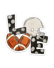 For Football Lovers Sticker - Single (Vertical) front
