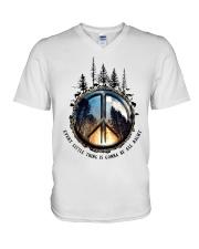 Hippie V-Neck T-Shirt thumbnail