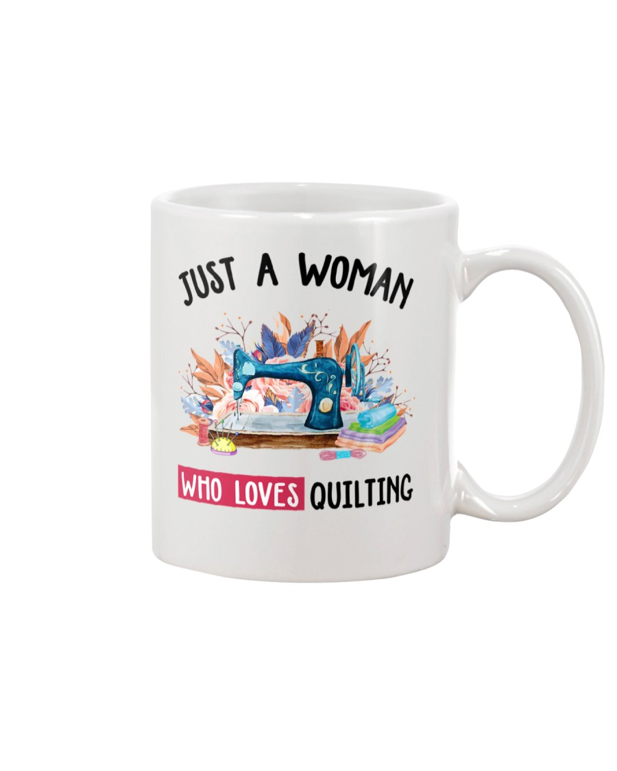 Just A Woman Who Loves Quilting Mug