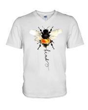 Bee Kind  V-Neck T-Shirt thumbnail