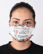 Diabetes Stay Strong Cloth face mask aos-face-mask-lifestyle-01