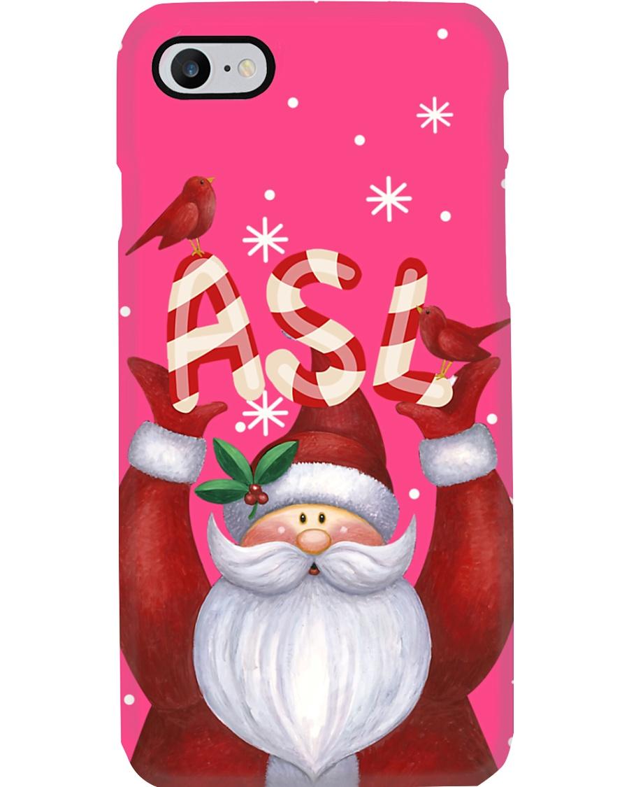 ASL Santa PC Phone Case