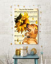 Sunflower Golden Retrieve Sunshine 11x17 Poster lifestyle-holiday-poster-3