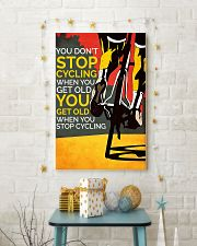 You Don't Stop Cycling 11x17 Poster lifestyle-holiday-poster-3
