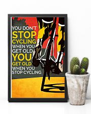 You Don't Stop Cycling 11x17 Poster lifestyle-poster-8