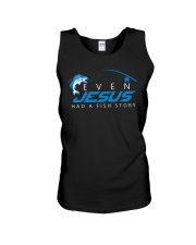Even Jesus Had A Fishing Story Unisex Tank thumbnail