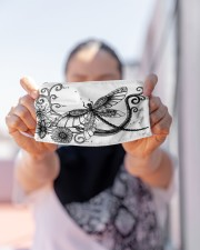 Dragonfly Tattoo Cloth face mask aos-face-mask-lifestyle-07