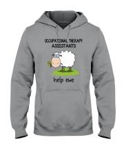 Occupational Therapists Assistants Help Ewe Hooded Sweatshirt thumbnail