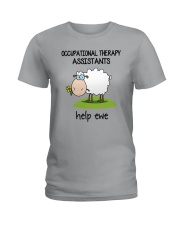 Occupational Therapists Assistants Help Ewe Ladies T-Shirt thumbnail