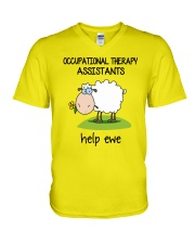 Occupational Therapists Assistants Help Ewe V-Neck T-Shirt thumbnail