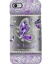 Cystic Fibrosis Awareness Phone Case i-phone-8-case