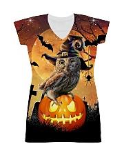 For Owl Lovers All-over Dress thumbnail