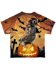 For Owl Lovers All-over T-Shirt back